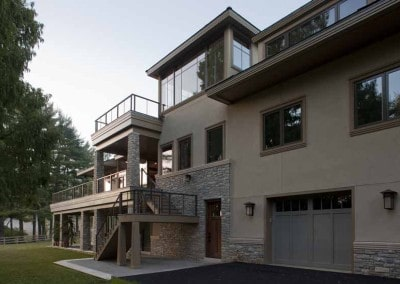 Chateau Country DE Countemporary Home - Dewson Construction